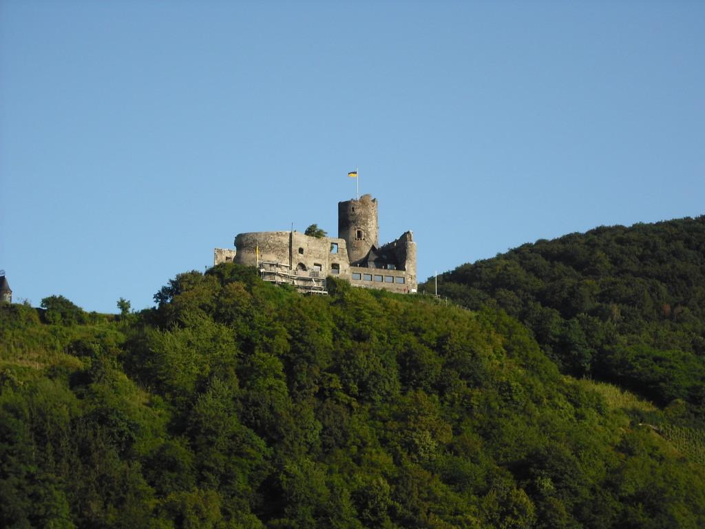 Bernkastel Burg Landshut