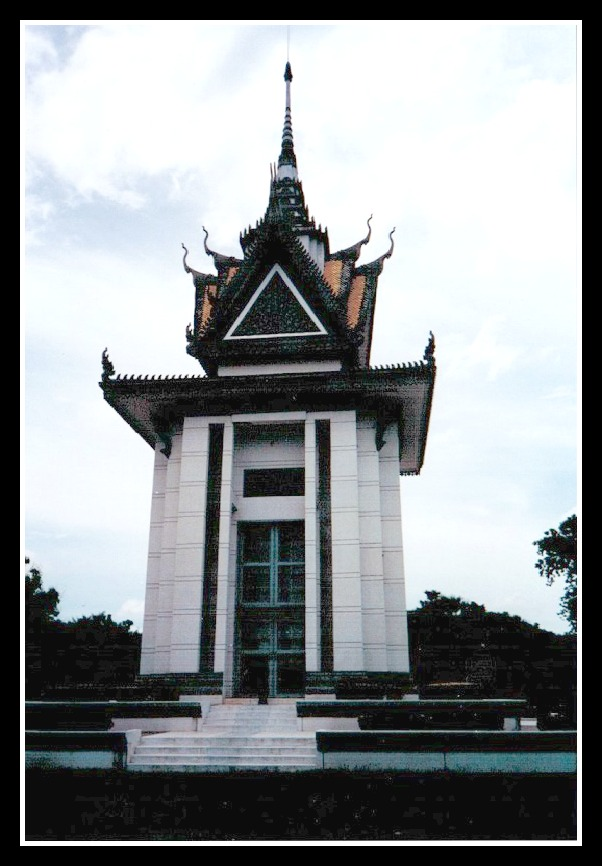 Penh Killing Fields Schrein