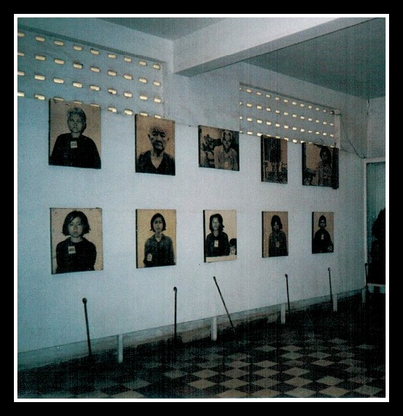 Kambodscha Phnom Penh S21 Genozid Museum Bildergalerie
