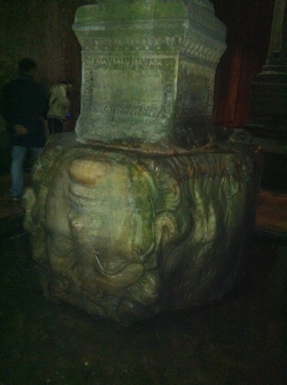 Istanbul Zisterne Medusa