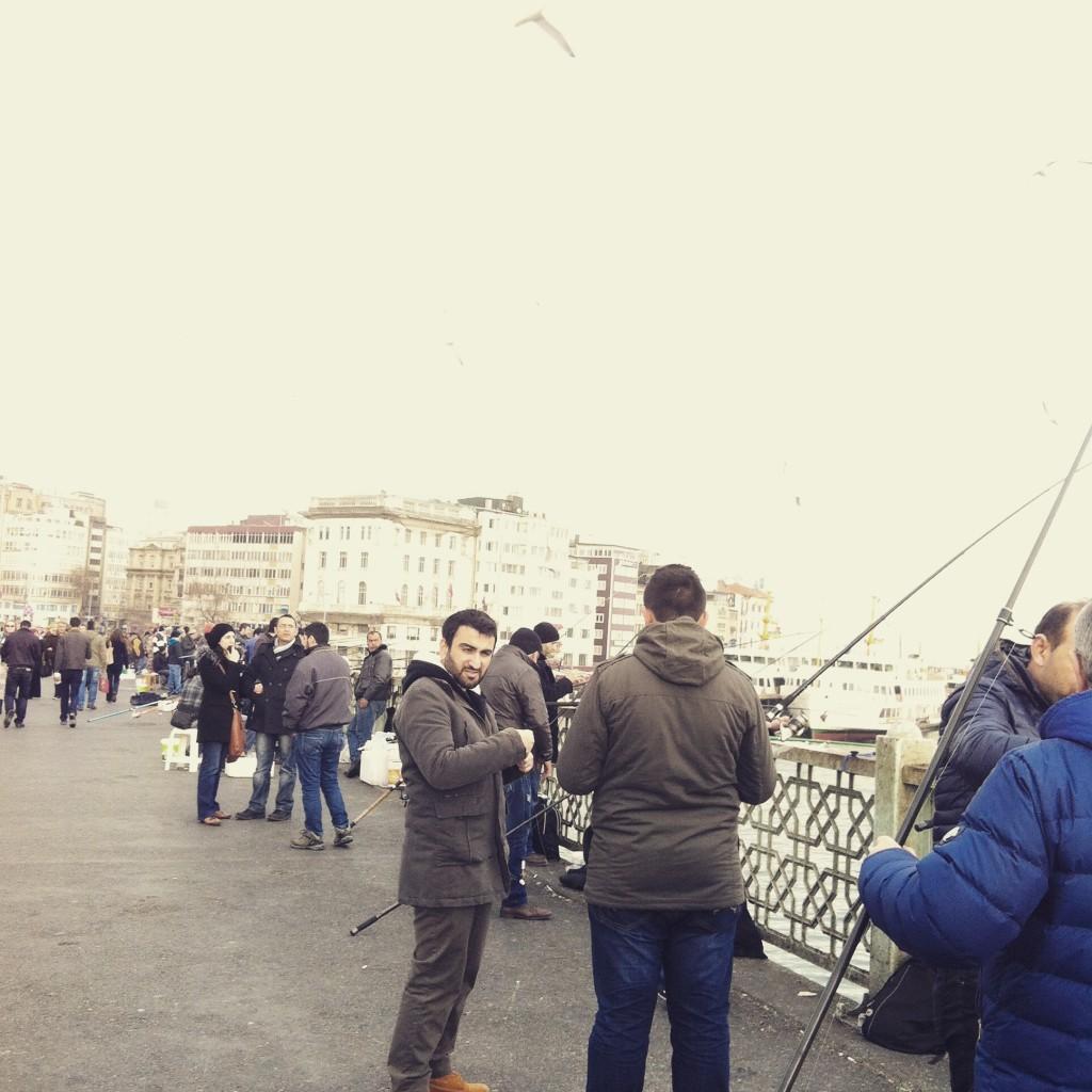 Impressionen von Istanbul Galata Brücke