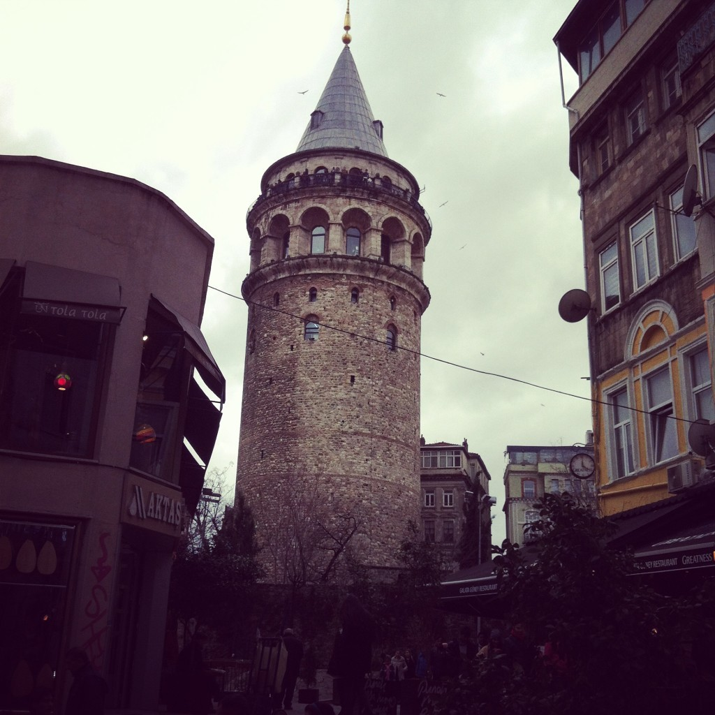 Spaziergang durch Istanbul
