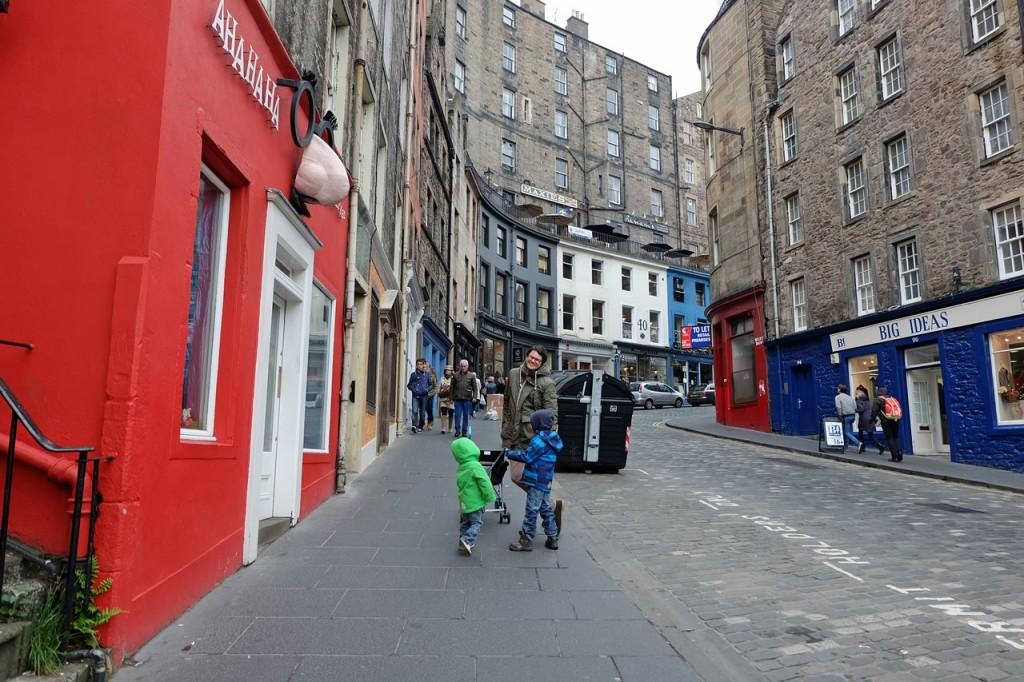 Städtereisen mit Kind PlanetHibbel Edinburgh1