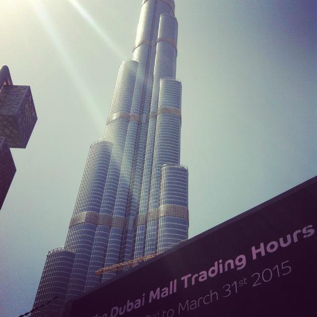 Ausflug auf den Burj Khalifa