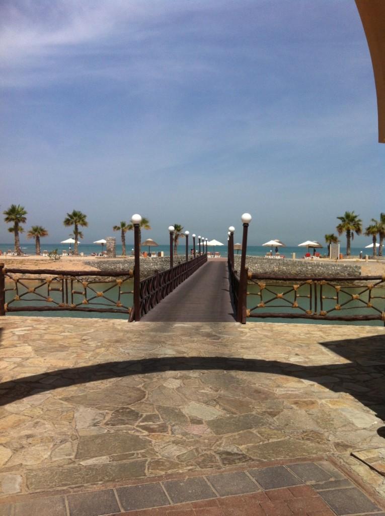 Cove Rotana Weg zum Strand