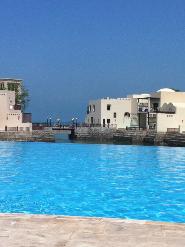 Cove Rotana Lagoon Pool