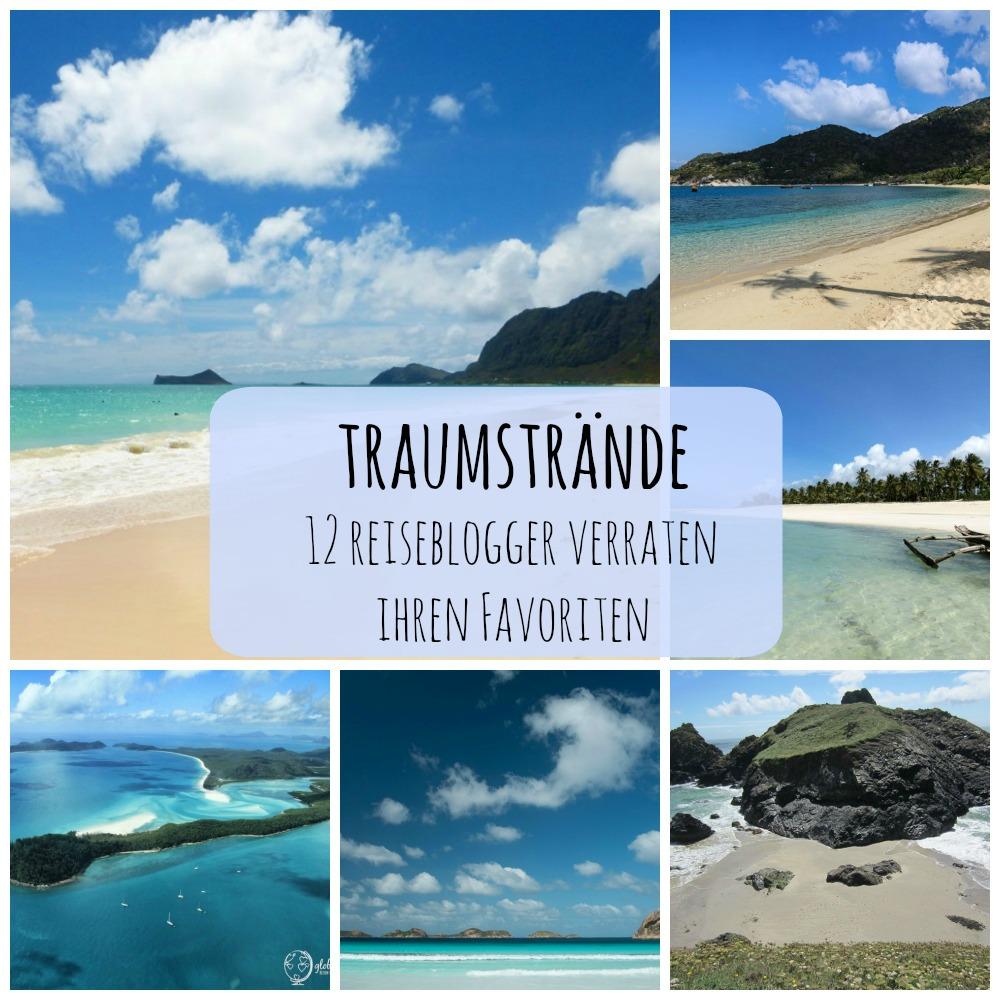 Traumstrände - 12 Reiseblogger verraten ihren Favoriten