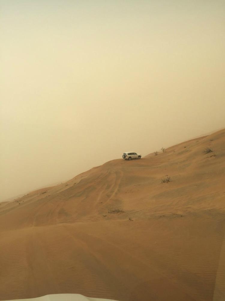 Wüste_Jeep Düne
