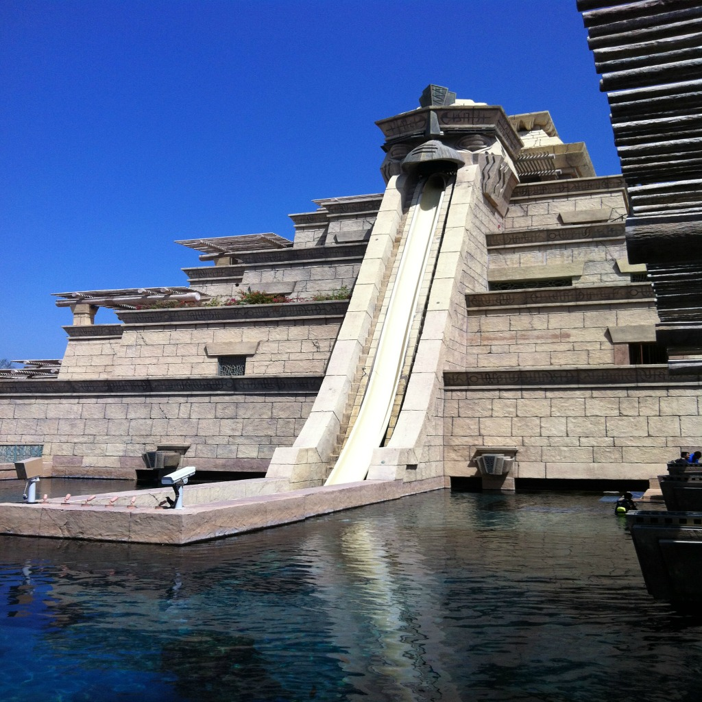 Dubai Mit Kind Ein Tag Im Atlantis Aquaventure Wasserpark Reiseblog Gecko Footsteps