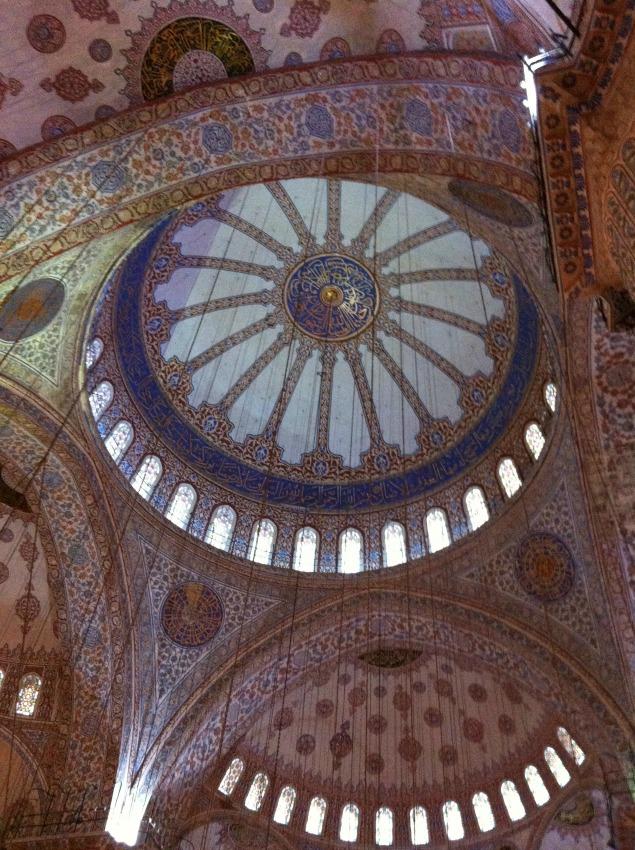 Istanbul Blaue Moschee Innen