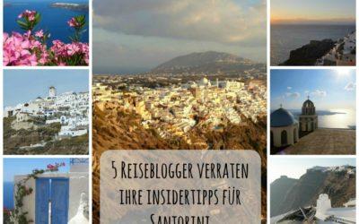 5 Reiseblogger verraten ihre Insidertipps für Santorini