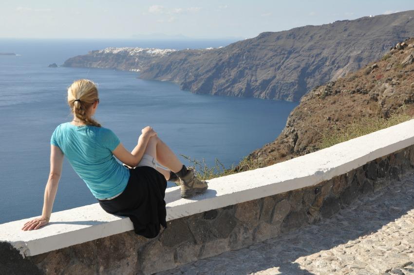 Santorini_Kraterwanderung