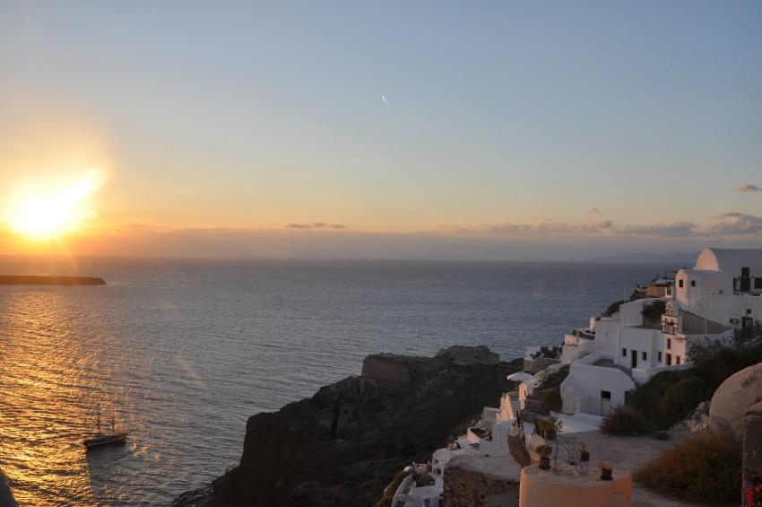 Santorini_Sonnenuntergang Oia