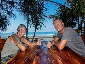 Bibo und Tanja Auszeitnomaden