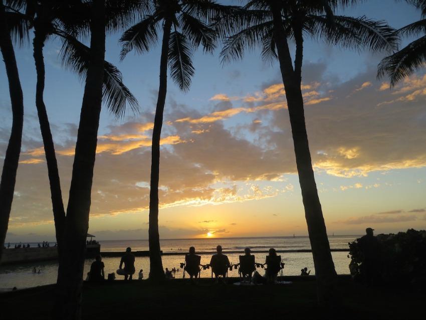 Oahu Waikiki Rapunzel will raus
