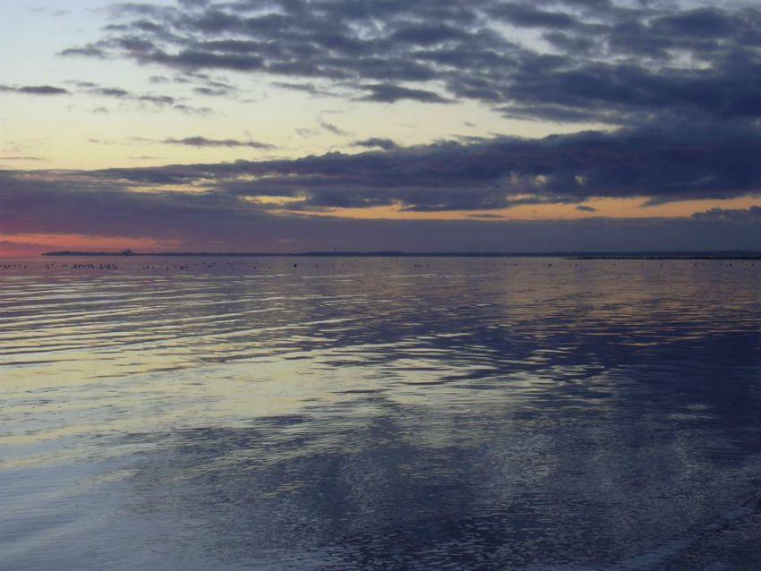 Föhr Sonnenuntergang Steffistraumzeit