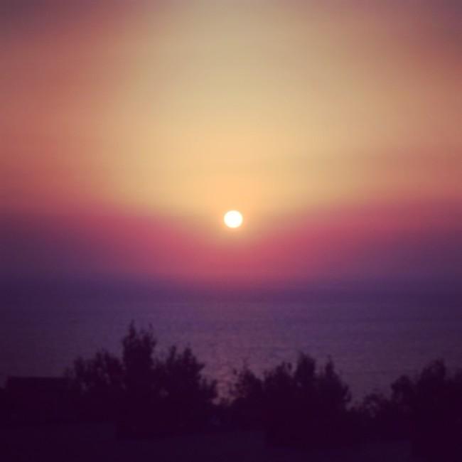 Santorini Sonnenuntergang Oía