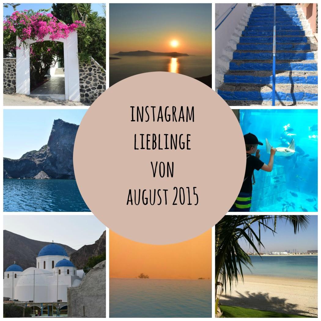 Instagram Lieblinge von August 2015