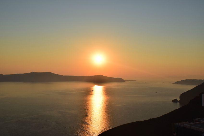 Santorini Fira Sonnenuntergang1