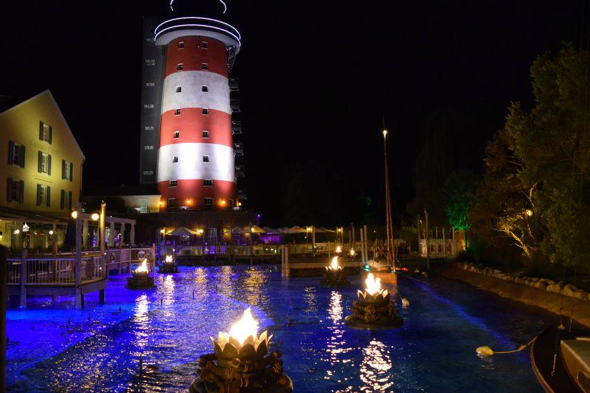 Europapark Hotel Bell Rock Leuchtturm