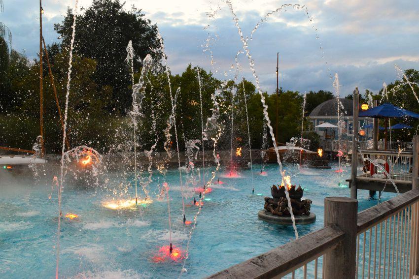 Europapark Hotel Bell Rock Wasserspiel