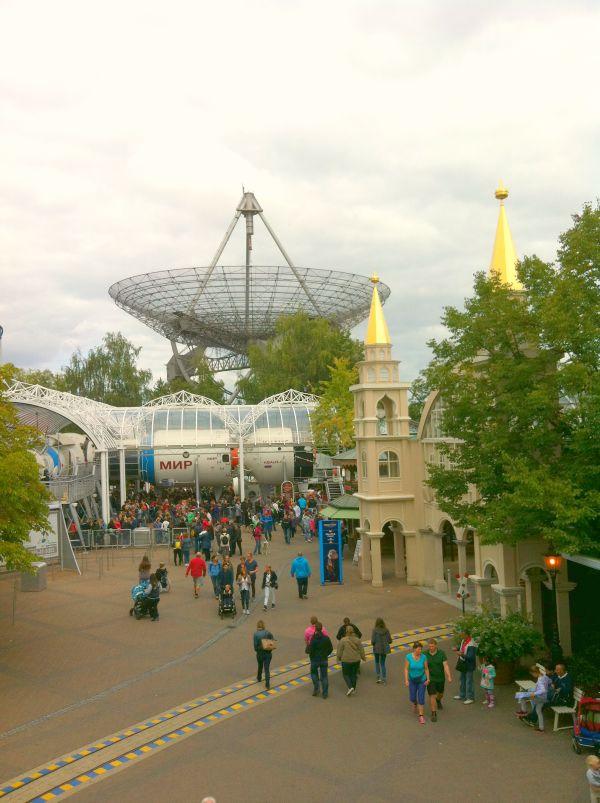 Europapark Satschüssel