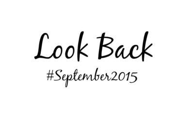 Look Back September 2015