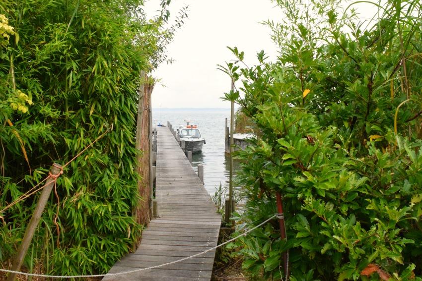 Chiemsee Fraueninsel Bootsparkplatz