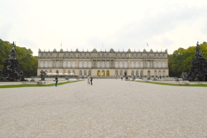 Chiemsee Herreninsel Schloss Herrenchiemsee