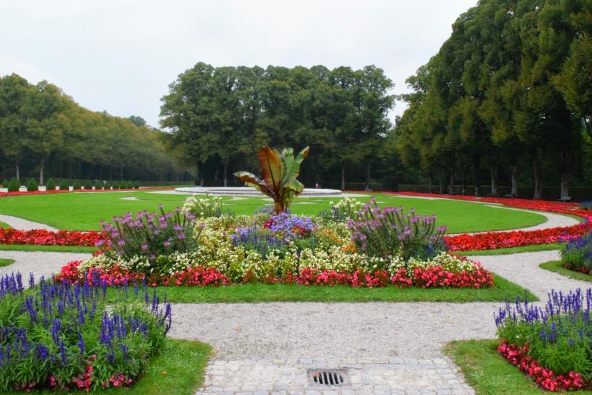 Chiemsee Herreninsel Schlossgarten
