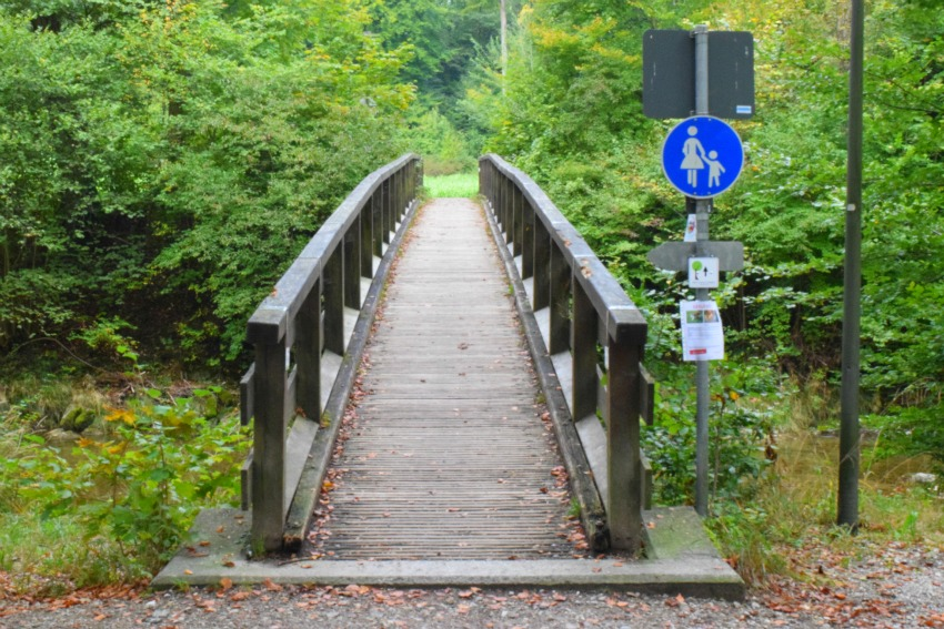 Schnitzeljagd Brücke