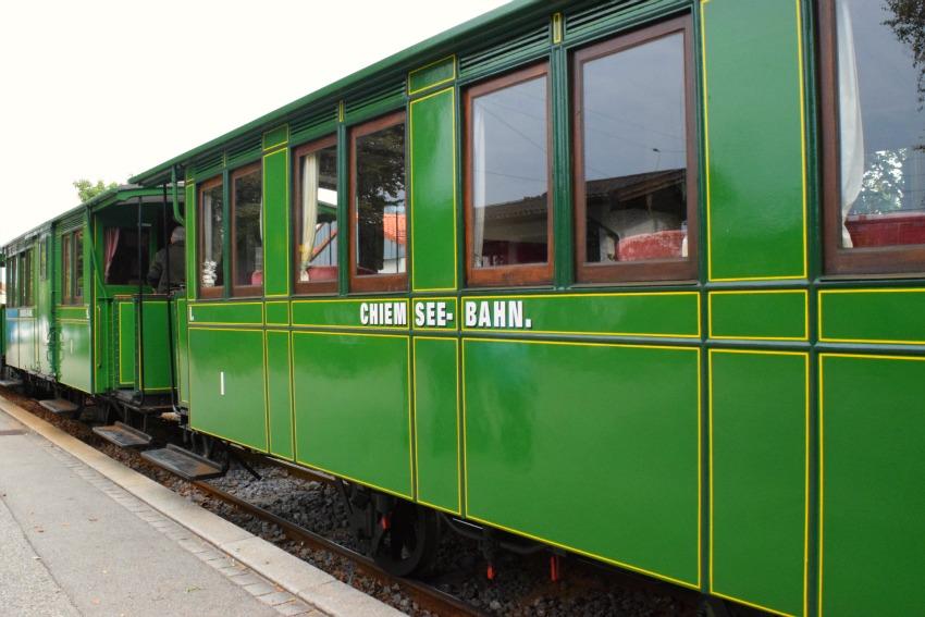 Schnitzeljagd Chiemsee-Bahn