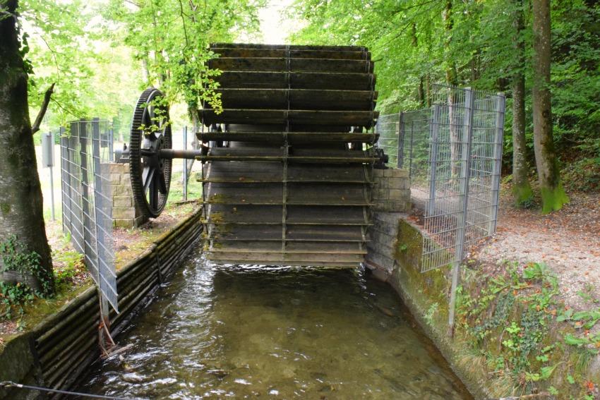 Schnitzeljagd Wasserrad