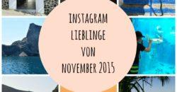Instagram Lieblinge von November 2015