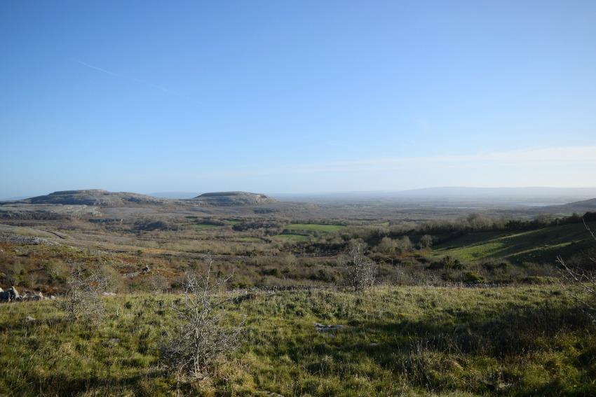 Irland Burren Landschaft