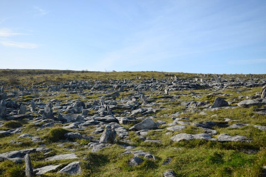 Irland Burren Steine