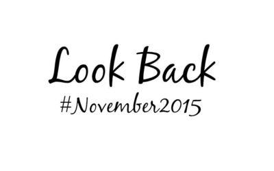 Look Back November 2015