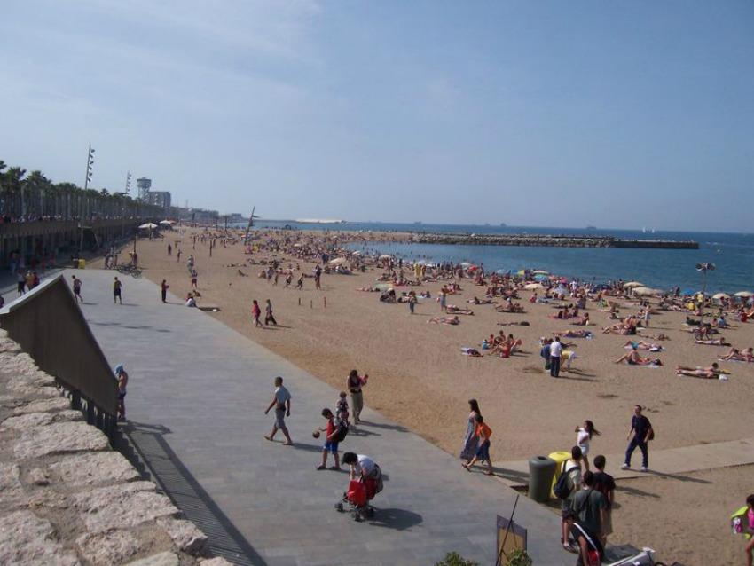 Strand Barcelona Sprachdirekt