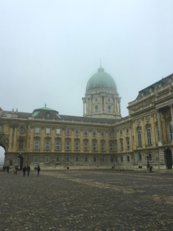 Budapest Burgpalast Innenhof