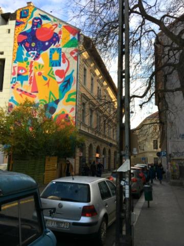 Budapest Jüdisches Viertel