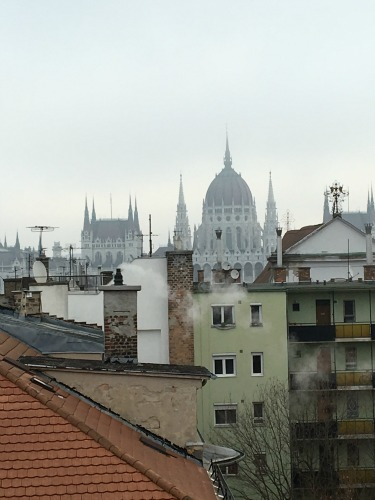 Budapest Parlament Ausblick