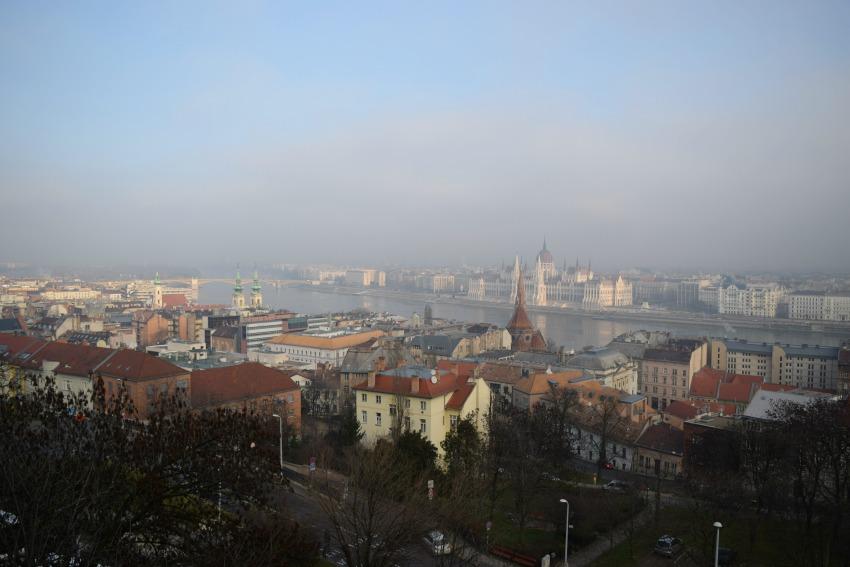 Budapest von der Fischerbastei