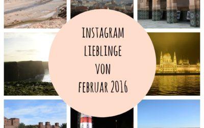 Instagram Lieblinge von Februar 2016