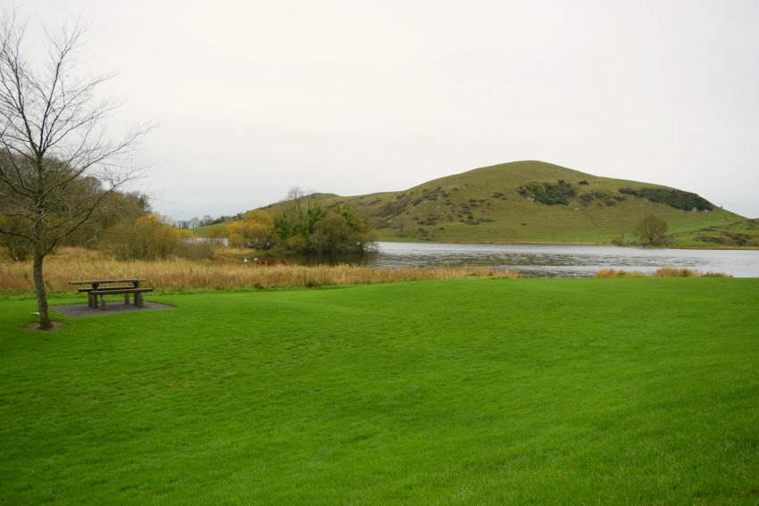 Irland Lough Gur Bank