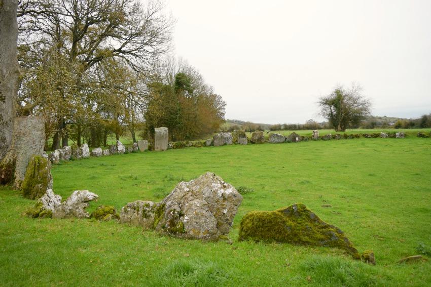 Irland Lough Gur Kreis