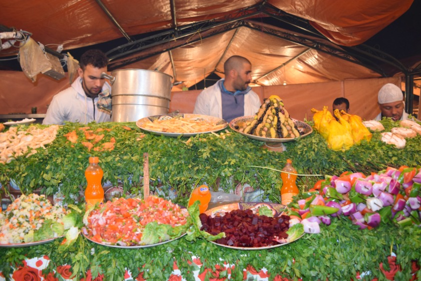 Marrakesch Medina Garküche