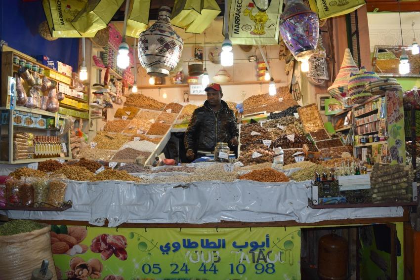 Marrakesch Souks Nüsse