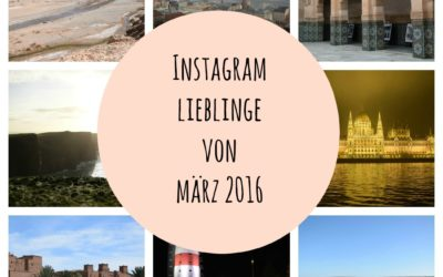 Instagram Lieblinge von März 2016
