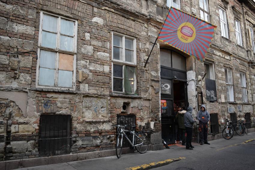 Das Jüdische Viertel in Budapest Fogas