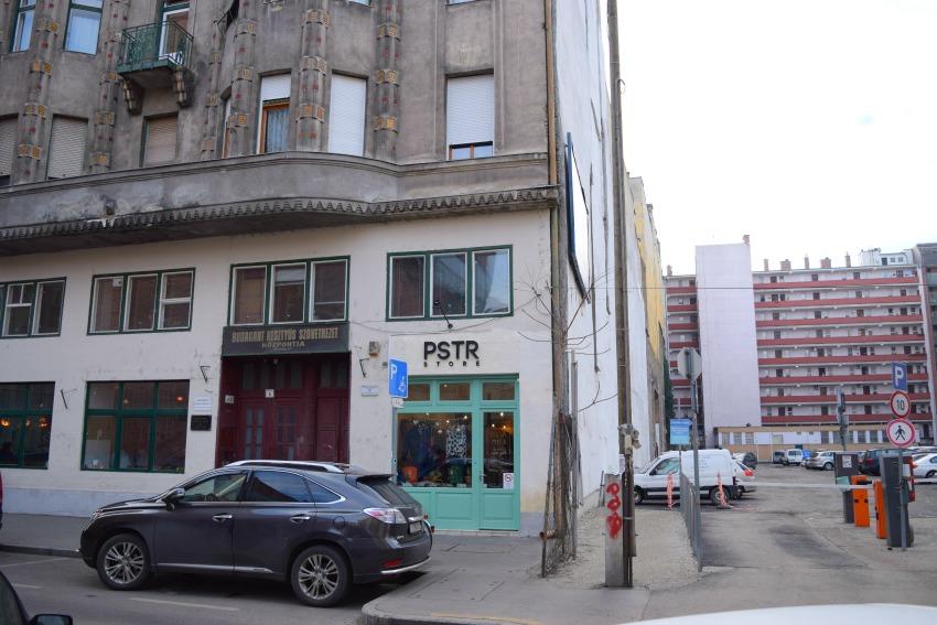 Das Jüdische Viertel in Budapest Häuser